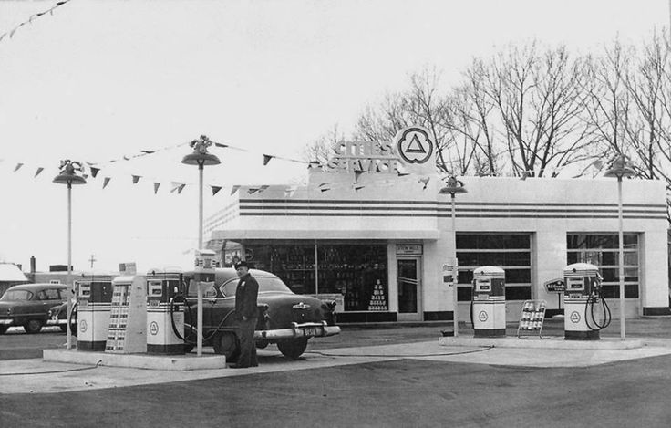 cities service vintage service stations pinterest old gas stations and cities. Black Bedroom Furniture Sets. Home Design Ideas