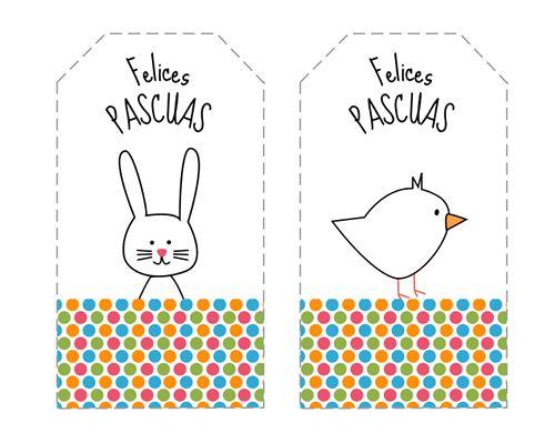 Etiquetas de Pascua para imprimir gratis: http://dibujos-para-colorear.euroresidentes.com/2013/03/etiquetas-de-pascua-para-imprimir.html