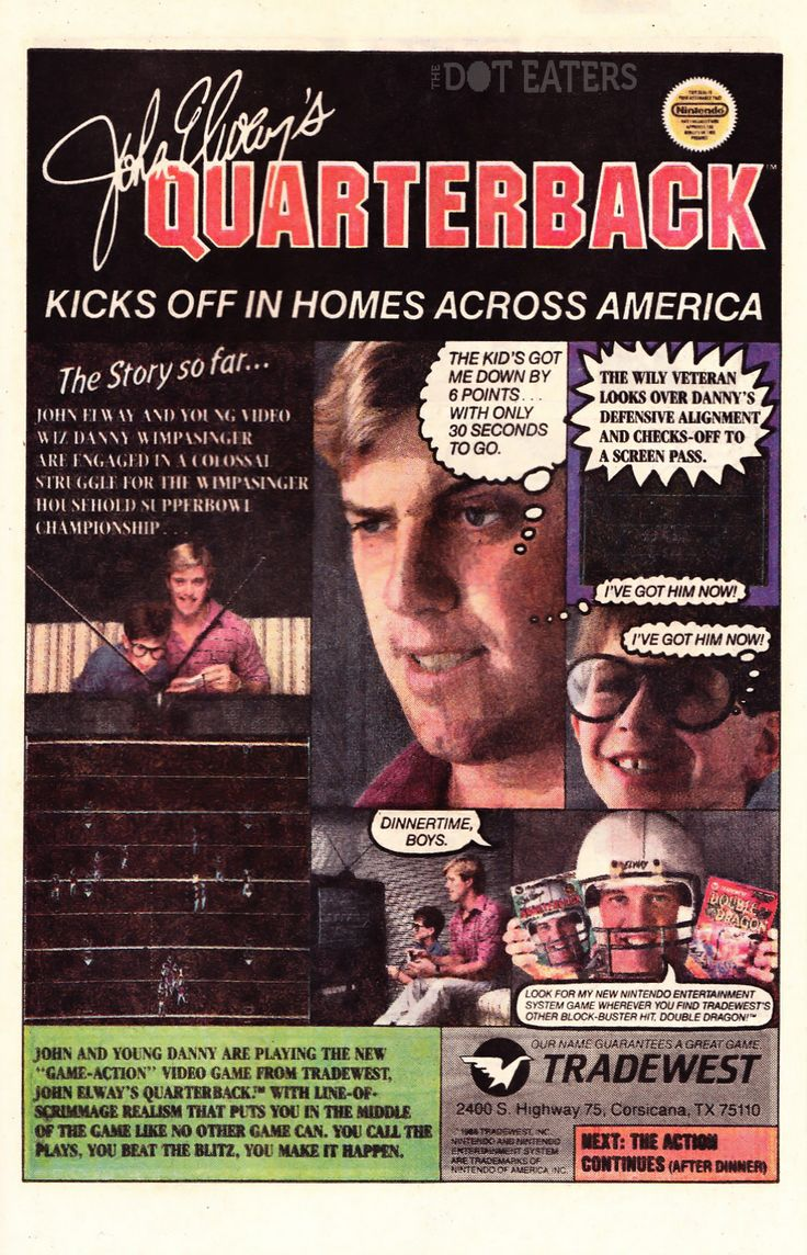 John Elway has nothing better to do than play NES with some random kid? (1989)#SuperBowl #NFL #bitstory