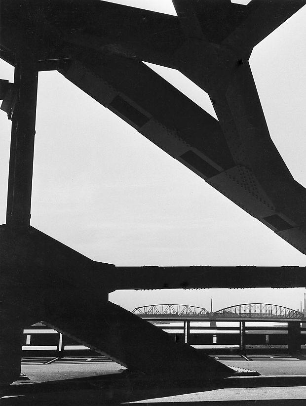 Kees Scherer - Composition Waal bridges 1955