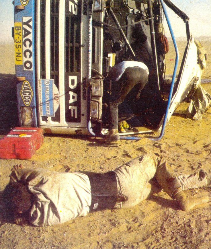DAF 95 X2 (Rallye Paris-Alger-Dakar 1988)