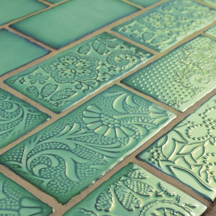 SomerTile 3x6-inch Antiguo Feelings Lava Verde Ceramic Wall Tile (Pack of 8) - Free Shipping On Orders Over $45 - Overstock.com - 18039582 - Mobile