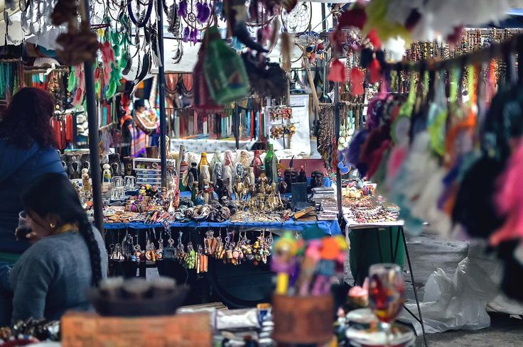 Some of the many handicrafts you can expect to see at Otavalo Market, Ecuador | heneedsfood.com