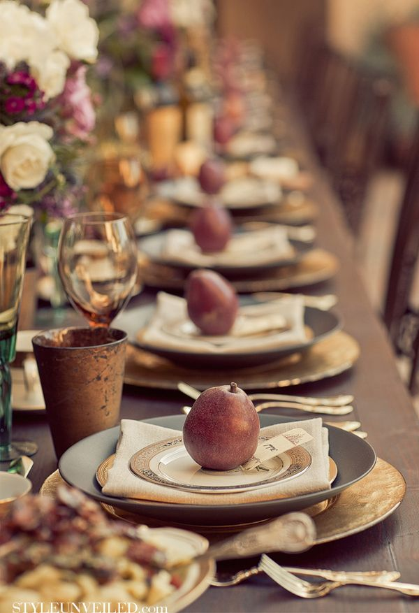 Autumn Table Setting Ideas find this pin and more on fall decorating ideas cute pumpkins and birdcage table setting 25 Great Ideas About Fall Table Settings On Pinterest