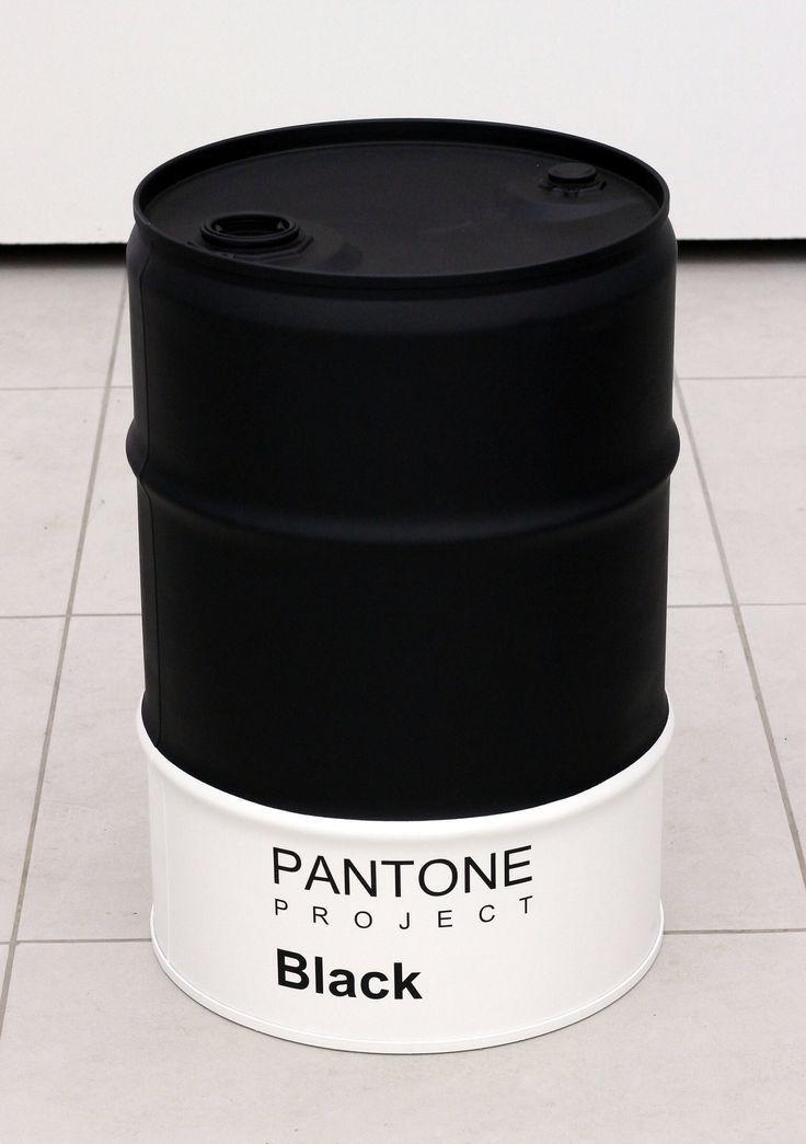 #pantone #black #oildrum #barrel