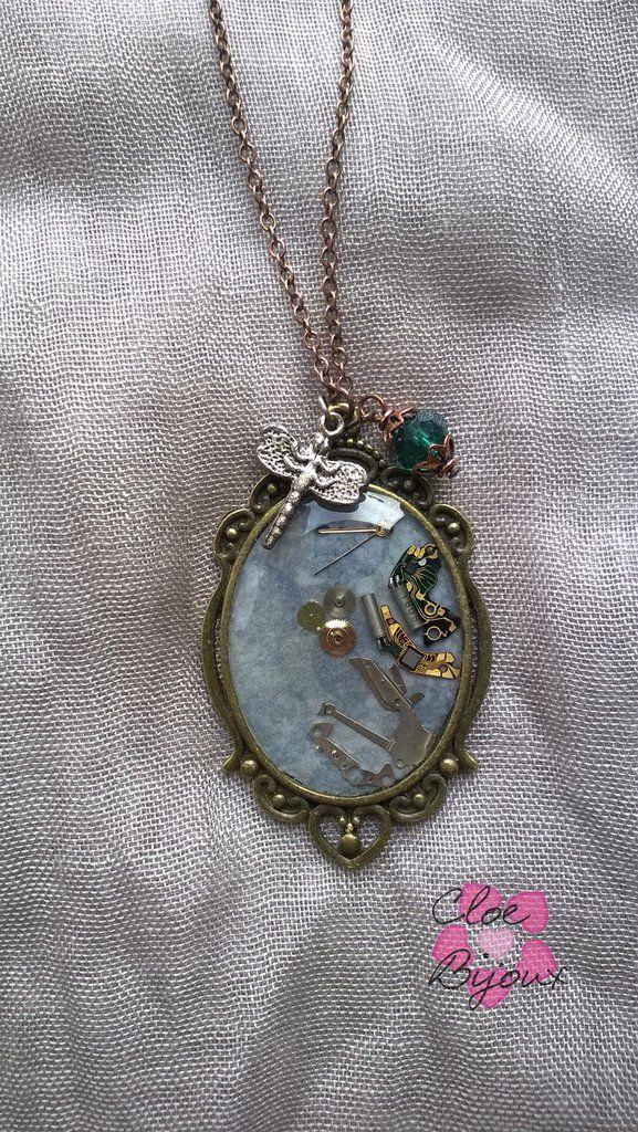 Collana con pendente Steampunk, by Cloe Bijoux, 12,00 € su misshobby.com