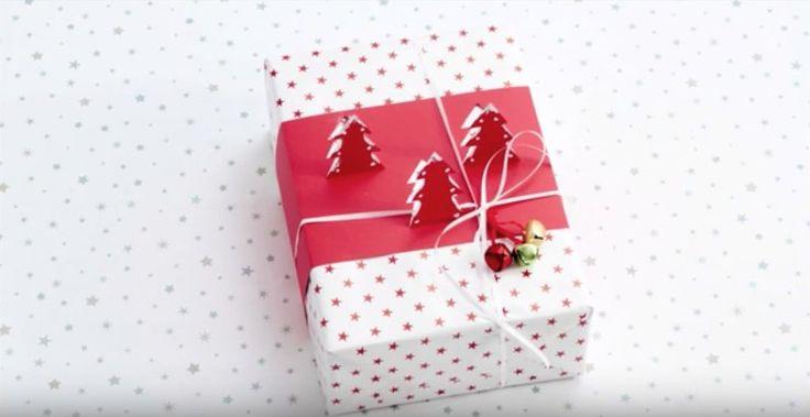 Kerstcadeau inpakken? Doe het dan eens op deze feestelijke manier! #kerst