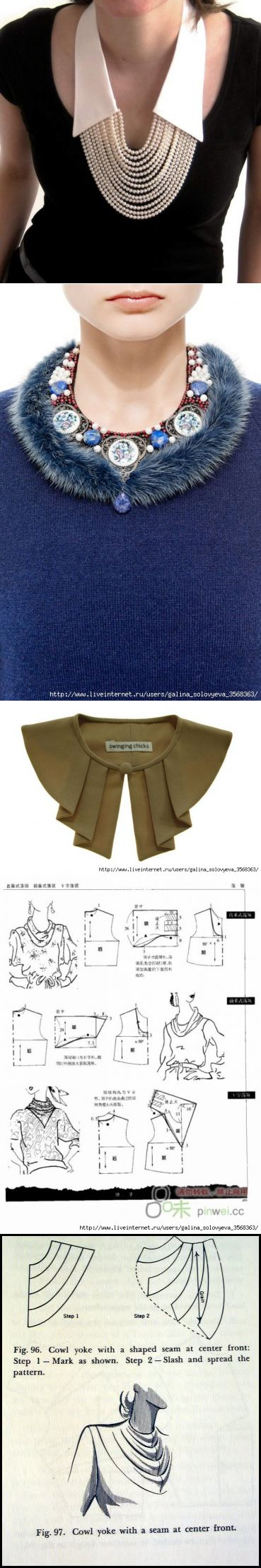 Stitch Collar Collections...♥ Deniz ♥