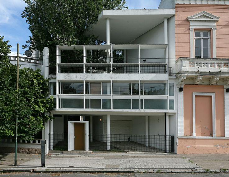 Le corbusier casa curutchet la plata buenos aires argentina 1949 1953 architecture - Le corbusier casas ...