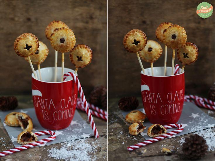 Cakepops mit Bratapfel und Nuss-Nougat-Füllung