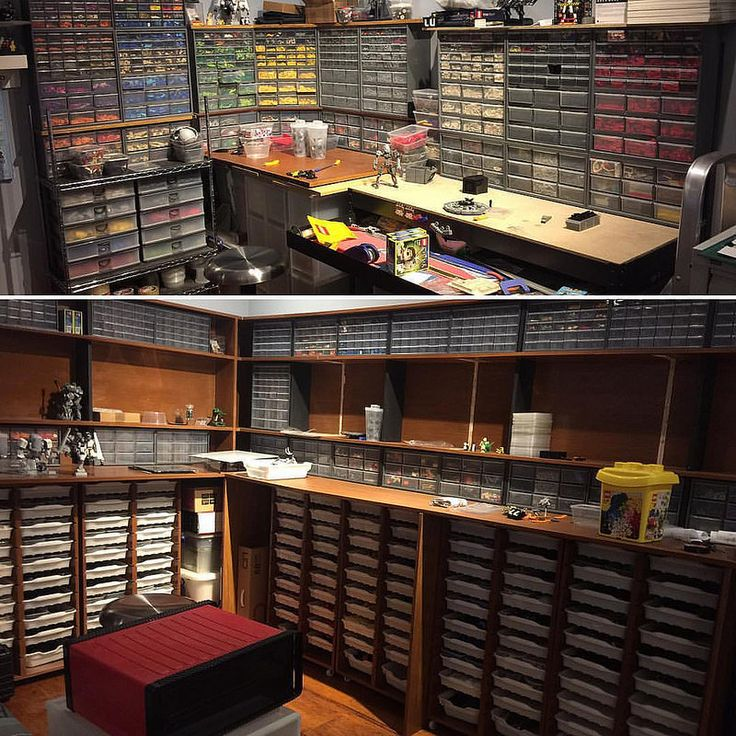 Room Renovations For Increased LEGO Storage Space And Better Organization  Of Parts XD Canu0027t Build Until Itu0027s Done But Worth The Wait