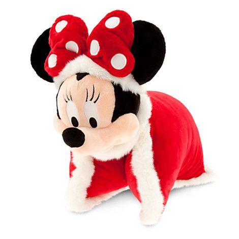 Santa Minnie Mouse Plush Pillow now  $16.47