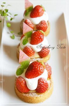 ⁂Miniature♡Strawberry Tart⁂
