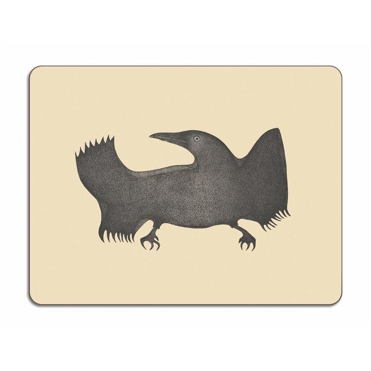 Twilight Raven, Pitaloosie Saila, 30x45cm – HOPSON GRACE