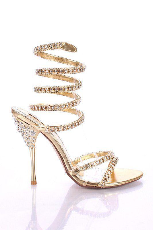 Diamond shoes, need I say more!
