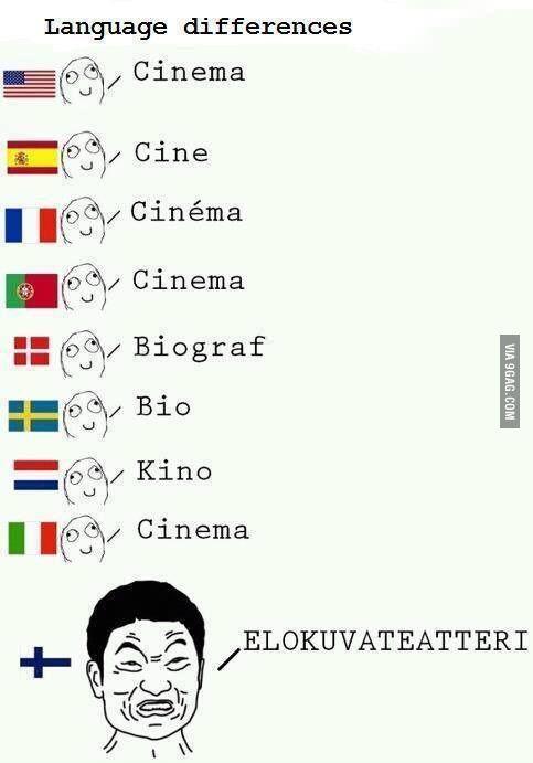 Finland language...