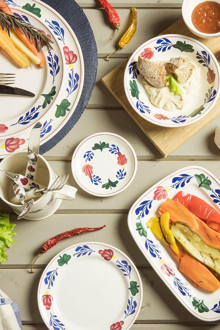 BBQ feestje? Dek je tafel met mooie borden en schalen van Boerenbont. Kijk snel verder voor het assortiment.