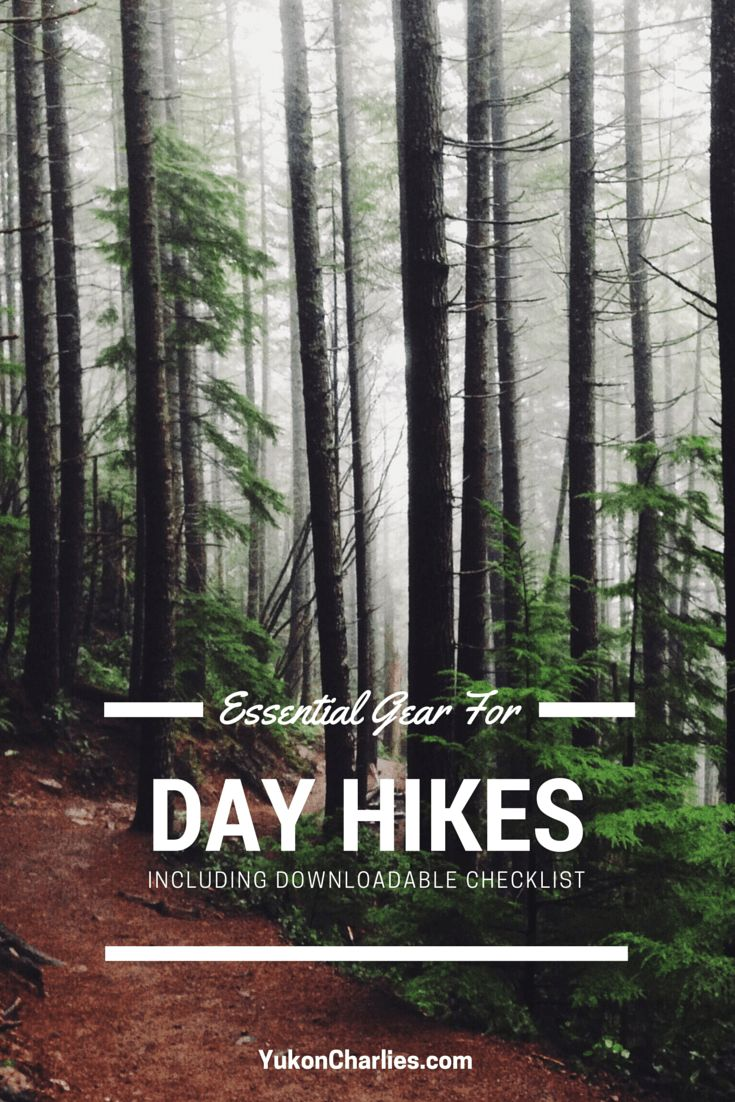 Gear Checklist for Day Hikes 01-tall