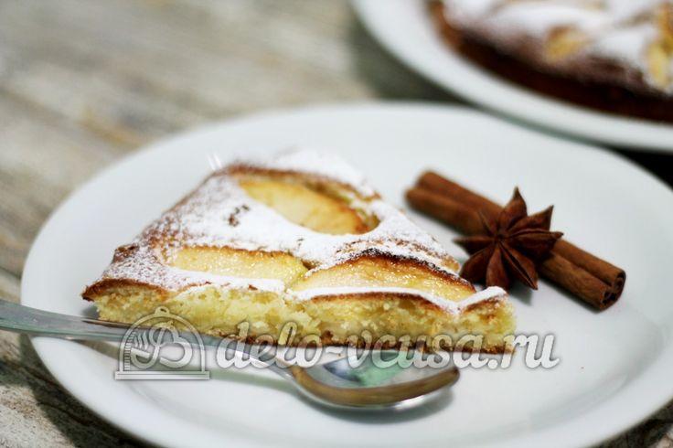 Английский яблочный #пирог от Назлы  https://delo-vcusa.ru/recept/anglijskij-yablochnyj-pirog/ ☀ Солнечного настроения и удачного дня!