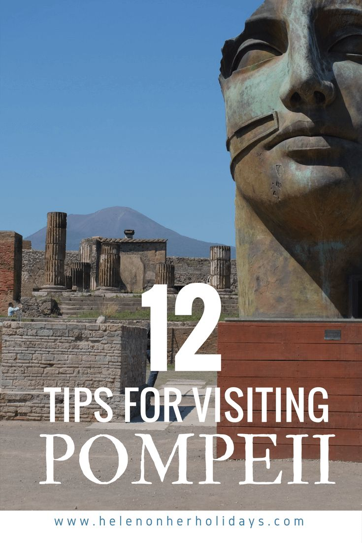 12 essential tips for visiting Pompeii, the ancient Roman town near Naples in Italy. How to get to Pompeii by train from Naples or Sorrento, tips on taking a tour and how to make the most of your visit. Also how to climb Vesuvius, the volcano which buried Pompeii. Enjoy your trip!