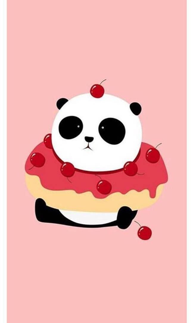Pinterest Wallpaper Wallpaper Photography Photooftheday Love Cute Mobile Instagram 89 Cute Panda Wallpaper Kawaii Wallpaper Panda Background