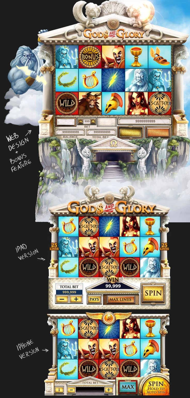 Gods and Glory Slot