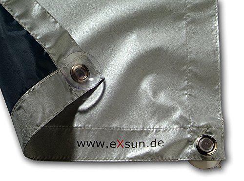 eXsun Sonnenschutz für Velux Y45 / 045 Dachfenster Rollo, Hitzeschutz, Verdunkelungsrollo - mit Krafthaftsaugern, kein Bohren - kein Nageln - kein Schrauben (GGU, GGL, GPU, GPL, GHU, GHL, GTU, GTL, GXU, GXL, VU, VL, VKU)