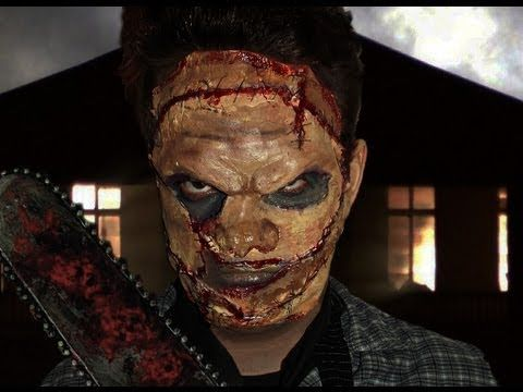 The Texas Chainsaw Massacre Leatherface Makeup