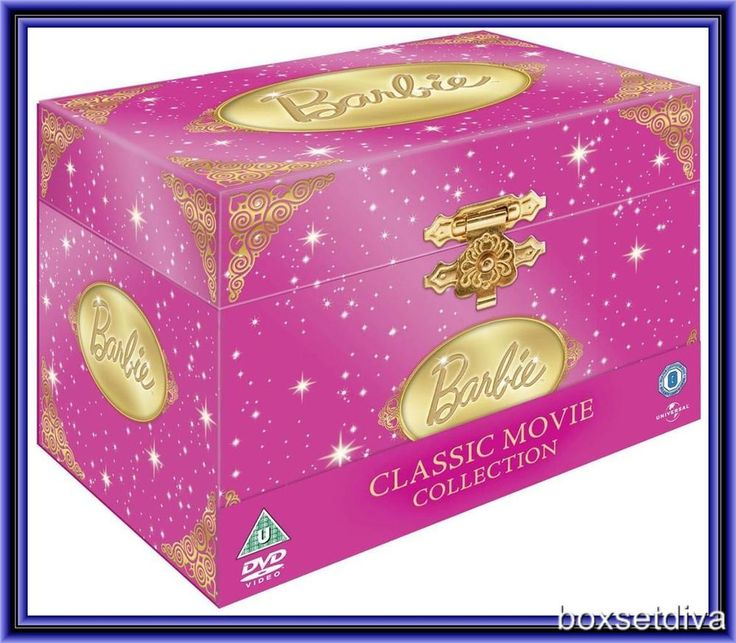 BARBIE COMPLETE CLASSIC MOVIE COLLECTION 19 FILMS *BRAND NEW DVD BOXSET*