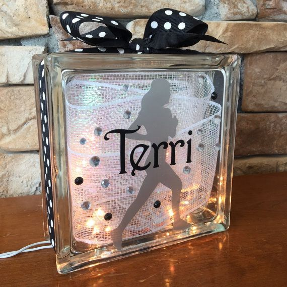 Runner GemLight Personalized Gifts for Runners Home by GemLights