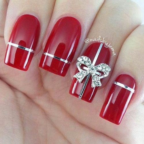 Best Acrylic Christmas Nails - 71 Acrylic Christmas Nail Designs - Best Nail Art
