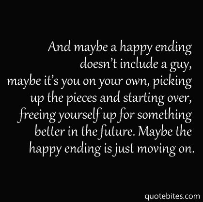 And if it's not happy ending yet, don't worry you're story's not over :)