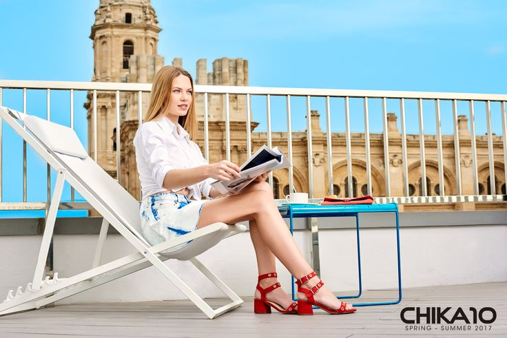 """Campaña Chika10 SS17 """"The Moment is Now"""""""