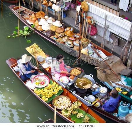 Floating Market - Bangkok, Thailand: Travel, Favorite Places, De Tours, Bangkok Thailand, Des Centain, Thailand Au, De Toulouse, Perfect Places, Sejour Thailand