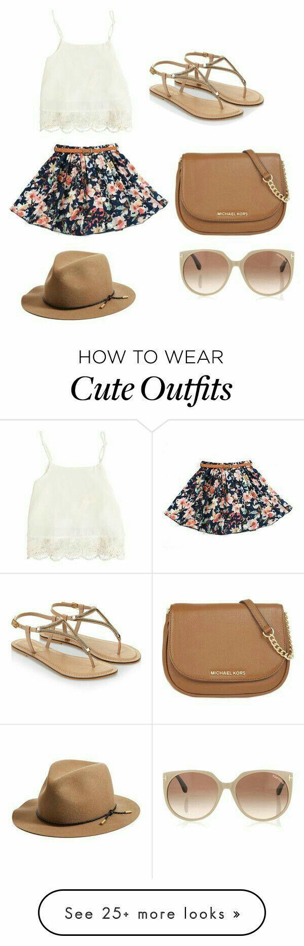 Outfit para primavera.  Tiempo de calor.  Falda corte A,crop blanco y sandalia cafe