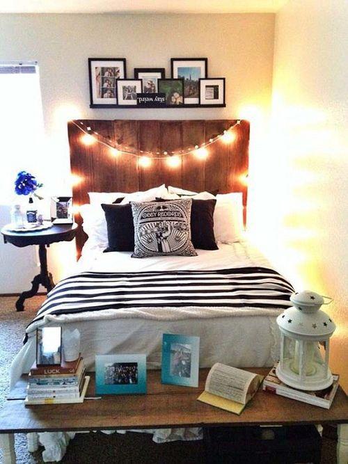 1000 Ideas About Headboard Shelves On Pinterest Headboards Dorm Room Head