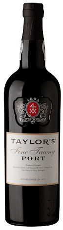 Taylor's Fine Tawny. Gamme actuelle.