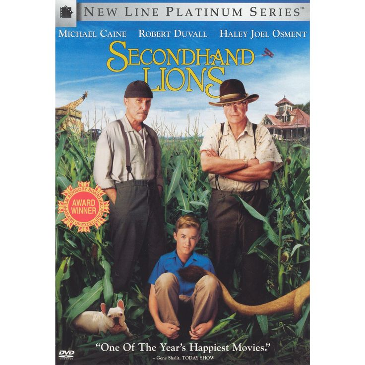 Secondhand Lions (New Line Platinum Series) (dvd_video)