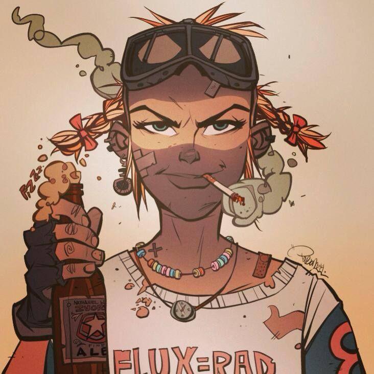 L'intriguant charme de Rebecca Buck 131721015cd606374779542773436c13--tank-girl-comic-jet-girl