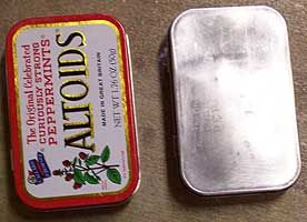 Prepping Tins For Altering