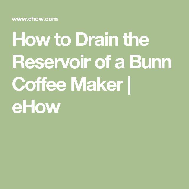 Bunn Coffee Maker Initial Setup : Best 25+ Bunn Coffee ideas on Pinterest Bunn coffee makers, Coffe bar and Coffee corner