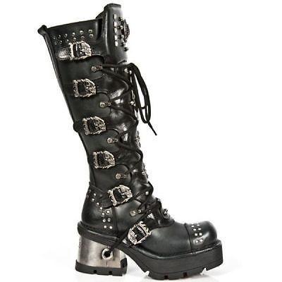 Damen Overknee Stiefel Schuhe luxus High Heels 1078 Schwarz 38