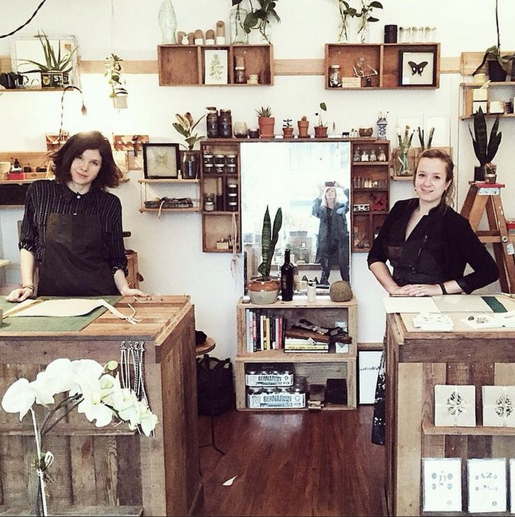 Shot from our feature in SCOUT Magazine. #vancouver #shop #SCOUT #eastvan Hannah J. Newton & Emilie Crewe