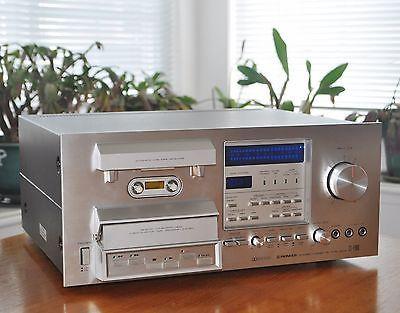 Vintage-Pioneer-CT-F900-3-Head-Cassette-Tape-Deck-ship-worldwide