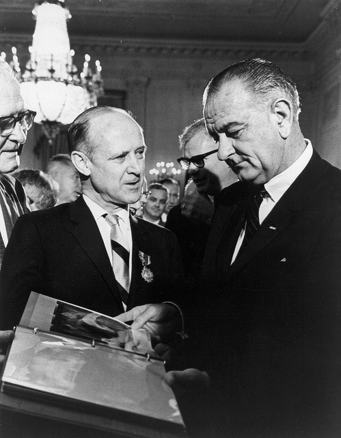 Mariner photos presented to President Johnson by NASA on The Commons, via Flickr
