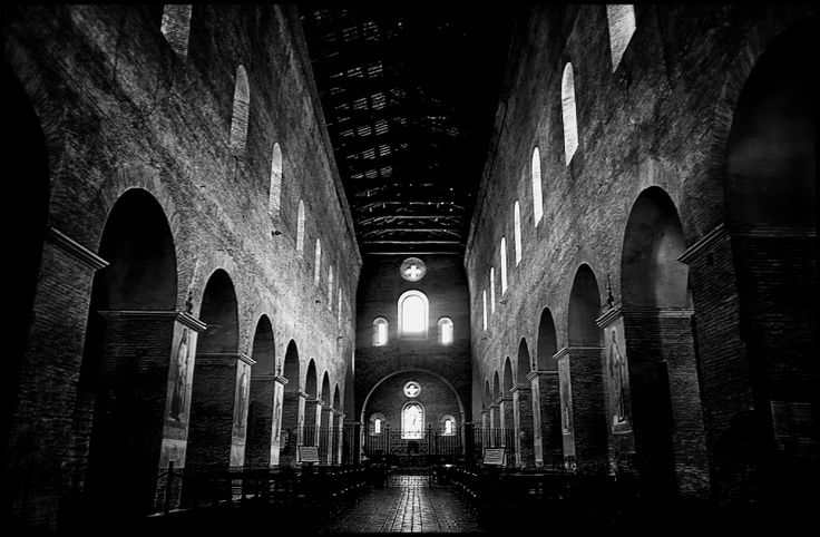 Shooting with the compact NIKON COOLPIX A to Three Fountain Abbey (Abbazia delle Tre Fontane), an ancient abbey in Rome currently held by Trappist Fathers of the Cistercian Order, also known to be the spot where St. Paul was beheaded. I wanted a Black & White vision where the pictures seemed to dance between darkness and light