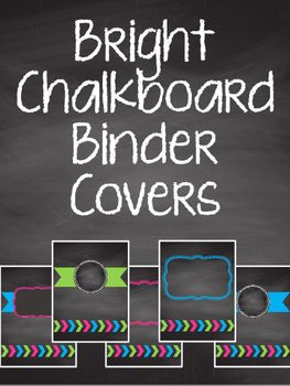Who doesn't love bright colors! These will spruce up your everyday classroom binders. This set includes 12 different binder covers.To insert your own text, add a text box in PowerPoint. Since this is a freebie, please leave feedback and let me know if you have any questions!