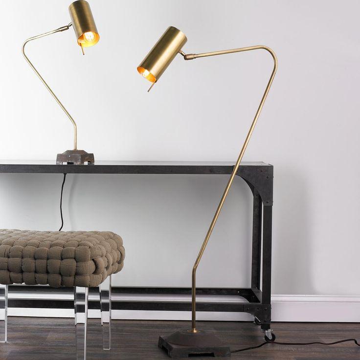267 best for lighting images on pinterest chandeliers for Best floor lamp for home office