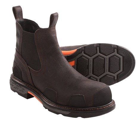 Ariat OverDrive Tradesman Work Boots (For Men))