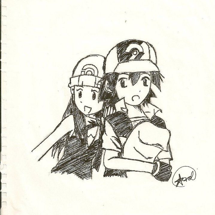 Pearlshipping!!! Ash and Dawn by Hikarol-chan on DeviantArt